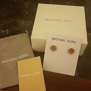 Michael Kors Rose Gold Stud earrings